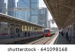 moscow  city  mcc  station...   Shutterstock . vector #641098168