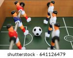 table soccer  | Shutterstock . vector #641126479