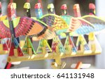 toys made of foam  as well as... | Shutterstock . vector #641131948