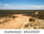 Gravel Road Through The Mungo...