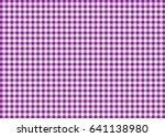 Purple Gingham Pattern...