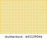 Dark Yellow Gingham Pattern...