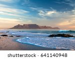 Table Mountain In Cape Town...