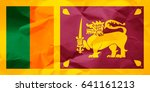 flag of sri lanka | Shutterstock . vector #641161213