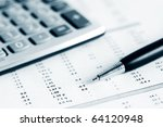 accounting. | Shutterstock . vector #64120948