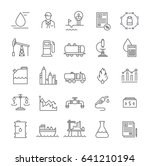 set line icons with open path...   Shutterstock . vector #641210194