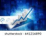 3d rendering stock market...   Shutterstock . vector #641216890
