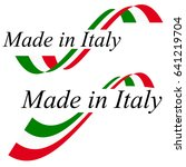 seal of quality with text made... | Shutterstock .eps vector #641219704