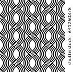 vector seamless pattern. modern ... | Shutterstock .eps vector #641260378