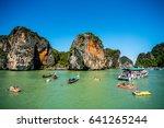 phang nga  thailand   december...   Shutterstock . vector #641265244