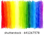 abstract hand drawn colored... | Shutterstock . vector #641267578