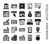 banking and finance line vector ...   Shutterstock .eps vector #641275216