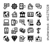 banking and finance line vector ...   Shutterstock .eps vector #641275228
