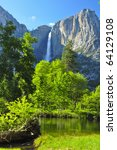Upper Yosemite Falls On A...