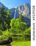 Upper Yosemite Falls On A...