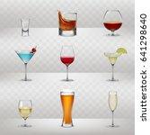 set of vector illustrations of... | Shutterstock .eps vector #641298640