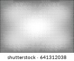 abstract halftone dotted... | Shutterstock .eps vector #641312038