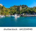 portofino  italy   april 29 ...   Shutterstock . vector #641334940