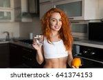horizontal indoors shot of... | Shutterstock . vector #641374153