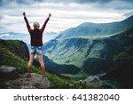 georgian military road  voyenno ... | Shutterstock . vector #641382040