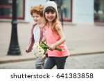 photo of two cute little... | Shutterstock . vector #641383858