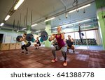 fitness  sport  training ... | Shutterstock . vector #641388778