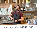small business  people and... | Shutterstock . vector #641391640