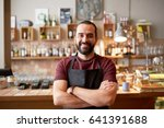 small business  people and... | Shutterstock . vector #641391688