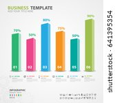 infographics elements diagram... | Shutterstock .eps vector #641395354