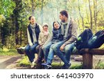camping  travel  tourism  hike... | Shutterstock . vector #641403970