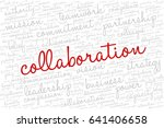 conceptual vector of tag cloud... | Shutterstock .eps vector #641406658