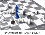 Chess Business Concept  Leader...