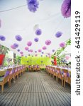 a number of the decorated... | Shutterstock . vector #641429119