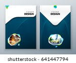 brochure template layout design.... | Shutterstock .eps vector #641447794