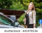 outdoor portrait of young... | Shutterstock . vector #641478136