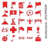 flag icons set. set of 25 flag...   Shutterstock .eps vector #641490049
