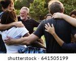group of diversity people... | Shutterstock . vector #641505199