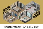 illustration vector isometric... | Shutterstock .eps vector #641512159