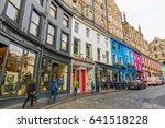 edinburgh  scotland  uk  ... | Shutterstock . vector #641518228