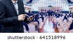businessman using the mobile...   Shutterstock . vector #641518996