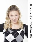 emotional caucasian casually... | Shutterstock . vector #641521528