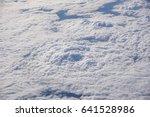 beautiful sky through plane...   Shutterstock . vector #641528986