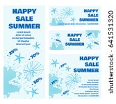 summer vector  sale  discounts  ... | Shutterstock .eps vector #641531320