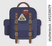 bag travel journey graphic...