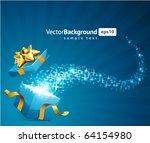 christmas vector background... | Shutterstock .eps vector #64154980
