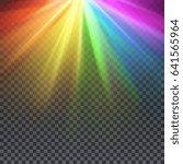 Rainbow Glare Spectrum With Ga...