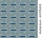 vintage minimalistic geometric... | Shutterstock .eps vector #641596243
