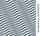 abstract wavy grey pattern.... | Shutterstock .eps vector #641596423