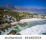 clifton beaches in cape town... | Shutterstock . vector #641603524