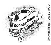 vector football illustration... | Shutterstock .eps vector #641604970